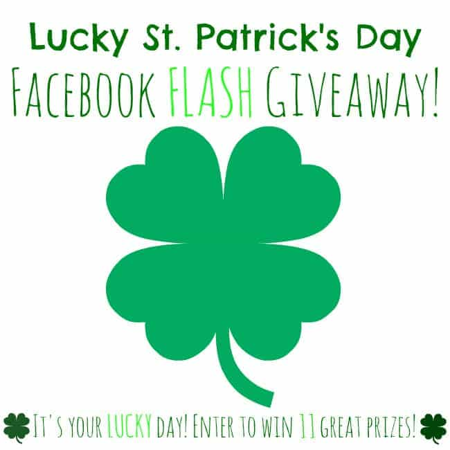 Lucky St. Patrick's Day Facebook Giveaway 2