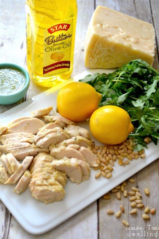 Pesto Chicken Flatbread 8