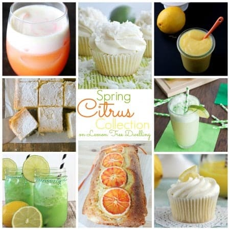 Spring Citrus Collection Collage