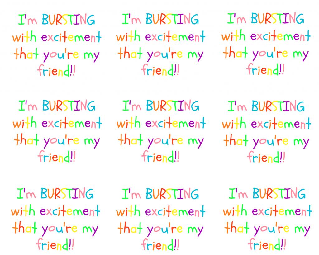 Starburst FRIENDS Print 2