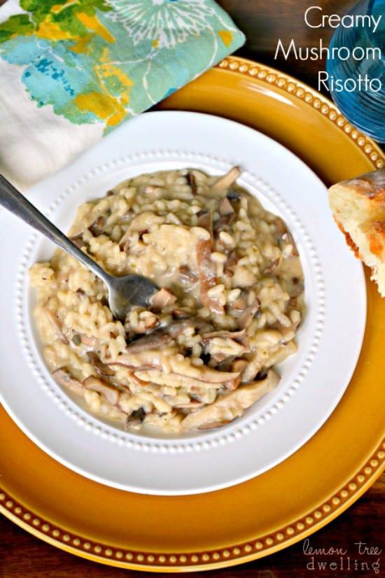 Creamy Mushroom Risotto 1 Fixed