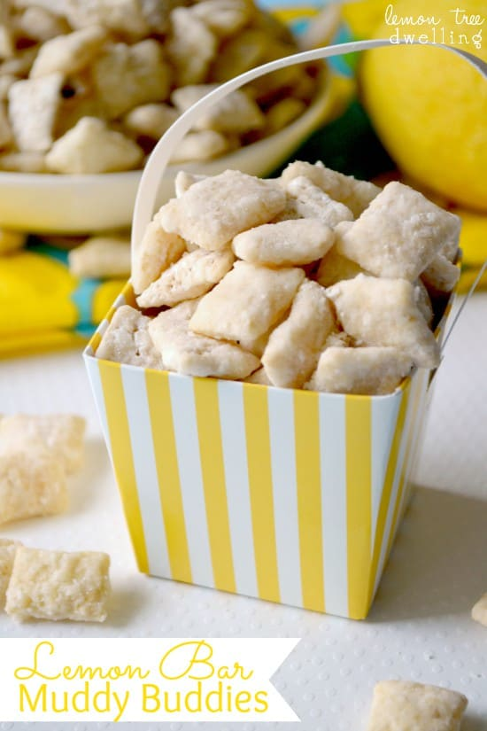 Lemon Bar Muddy Buddies 1