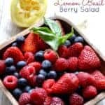Lemon Basil Berry Salad 2