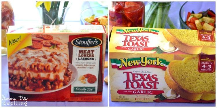 Stouffer's Lasagna Collage 2