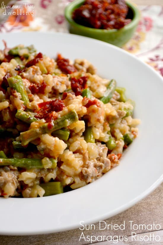 pot is all you need to make this Creamy Risotto Recipe with asparagus ...