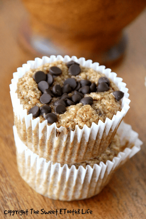 Vegan-and-Flourless-Almond-Butter-Banana-Blender-Muffin-3