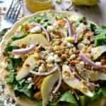 BBQ Chicken, Pear & Gorgonzola Salad 1b