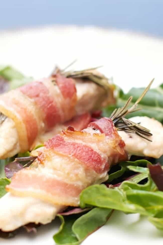 Bacon & Rosemary Wrapped Chicken