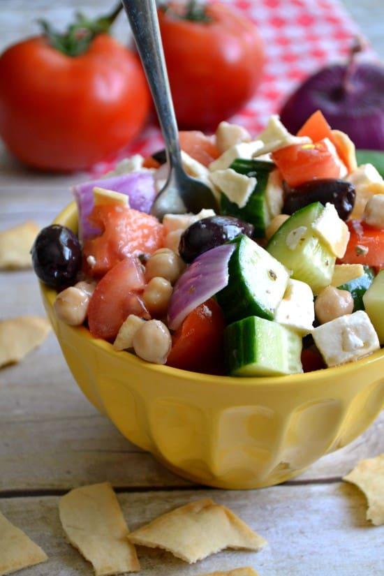 Greek Picnic Salad - a definite crowd pleaser!!
