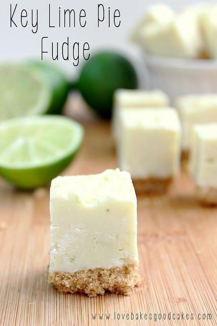 Key Lime Pie Fudge