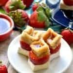 Strawberry Brie Waffle Bites 4