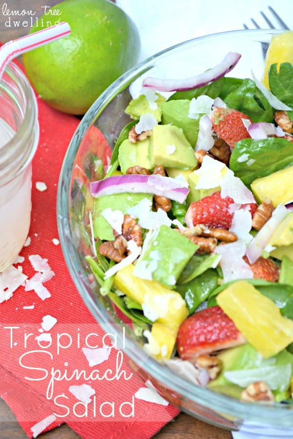 Tropical Spinach Salad 1 - Copy