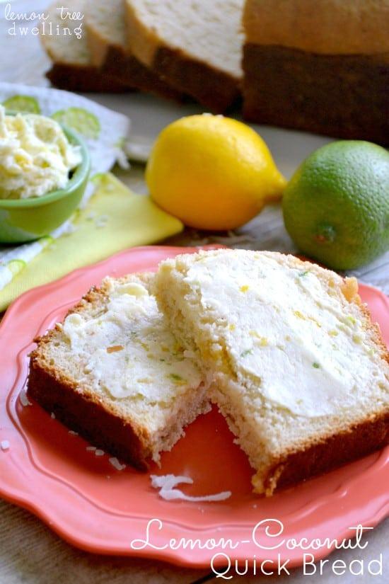 Lemon Coconut Quick Bread 5