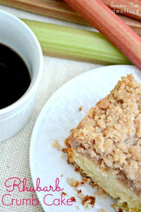 Rhubarb Crumb Cake 1