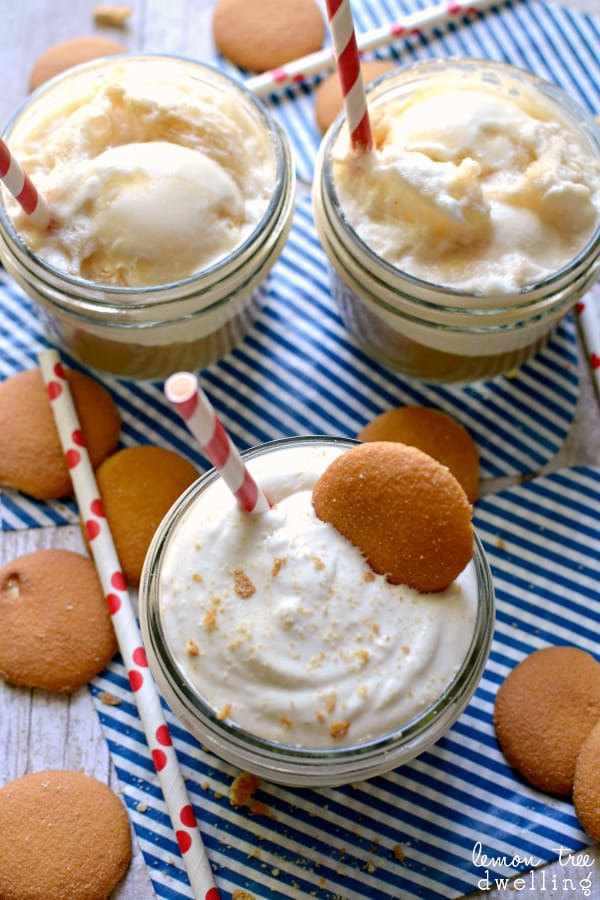 Creamy Root Beer Float Dip - a delicious {no-melt} twist on the classic!