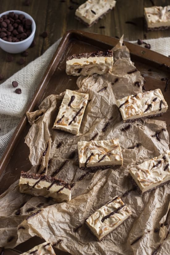 Chocolate-Peanut-Butter-Krispie-Cheesecake-Bars-10