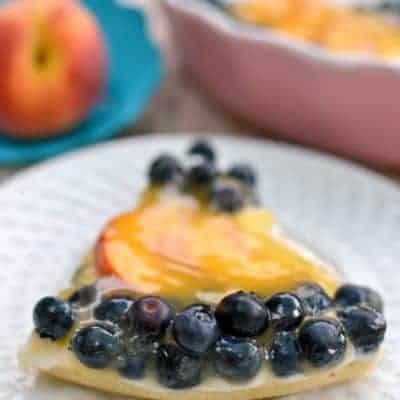 Blueberry Peach Tart