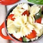 Caprese Artichoke Pasta Salad 3b