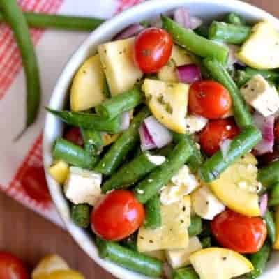 Fresh Green Bean Salad