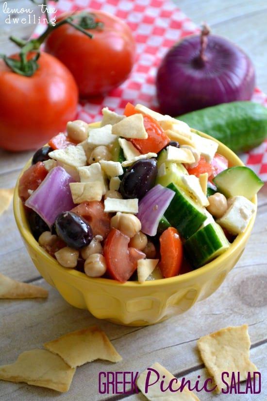 Greek Salad 10
