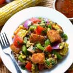 Southwest Bread Salad 3