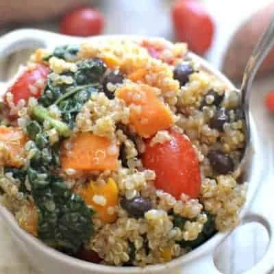 Sweet Potato Kale Quinoa