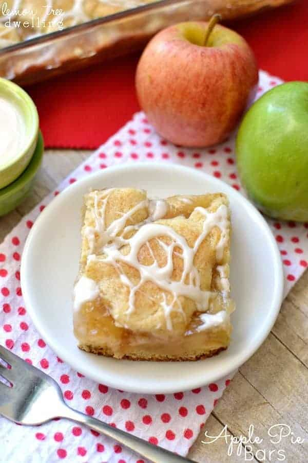 Apple Pie Bars Recipe - The 36th AVENUE
