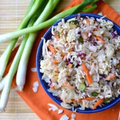 Ramen Noodle Sumi Salad