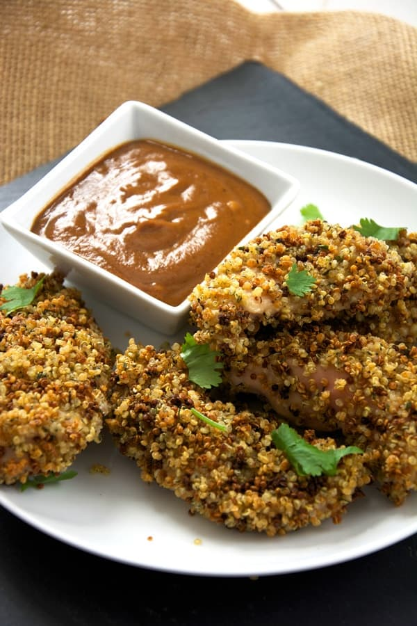 Ranch Quinoa chicken fingers