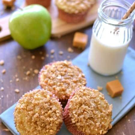 Caramel Apple Muffins 1