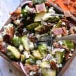 Harvest Brussel Sprout Salad 1b