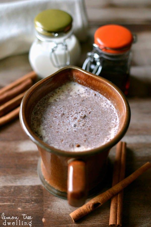 3-ingredient Maple Cinnamon Coffee Creamer. Tastes like breakfast!