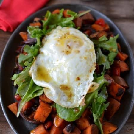 Sweet Potato Breakfast Salad 1