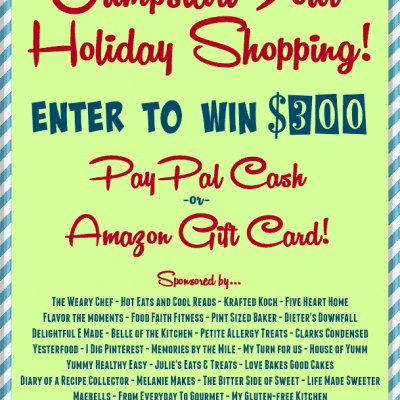 Holiday Cash Giveaway!