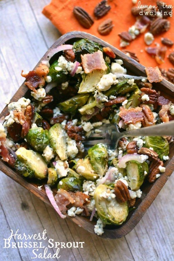 Harvest Brussel Sprout Salad 1c