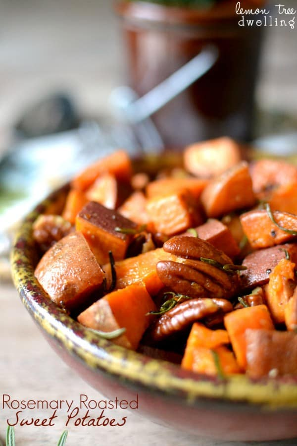 Rosemary Roasted Sweet Potatoes Perfect side dish for any occasion