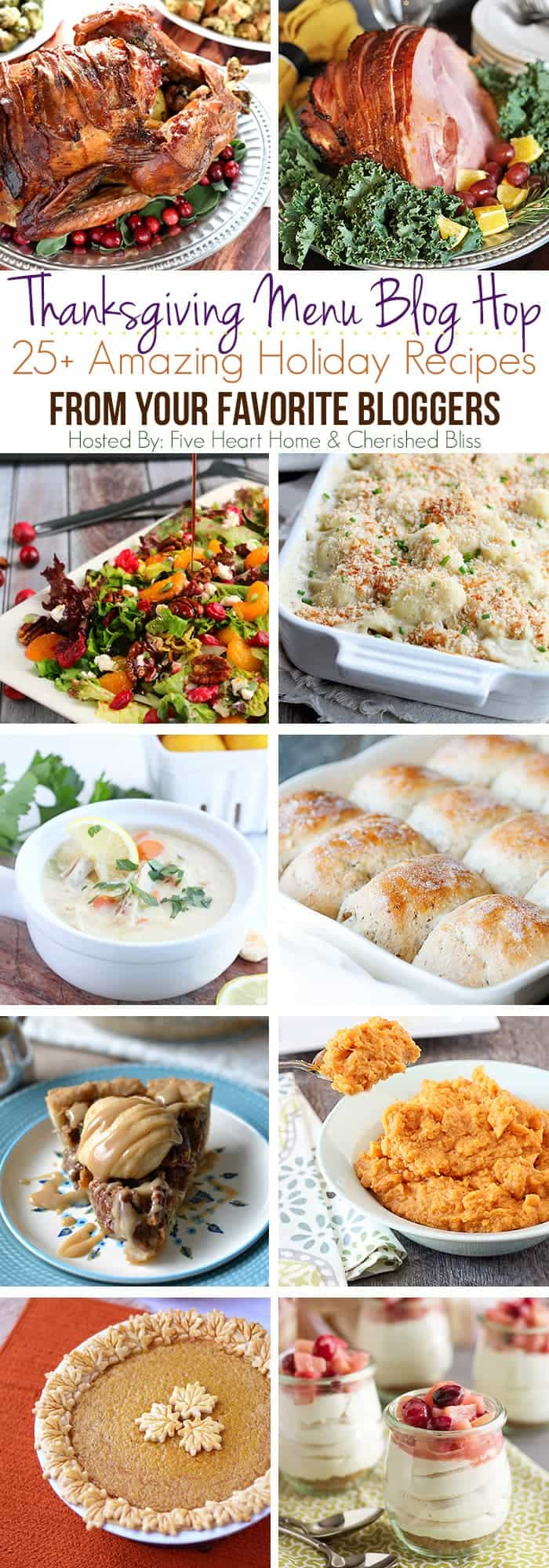 25 Thanksgiving Recipes Blog Hop