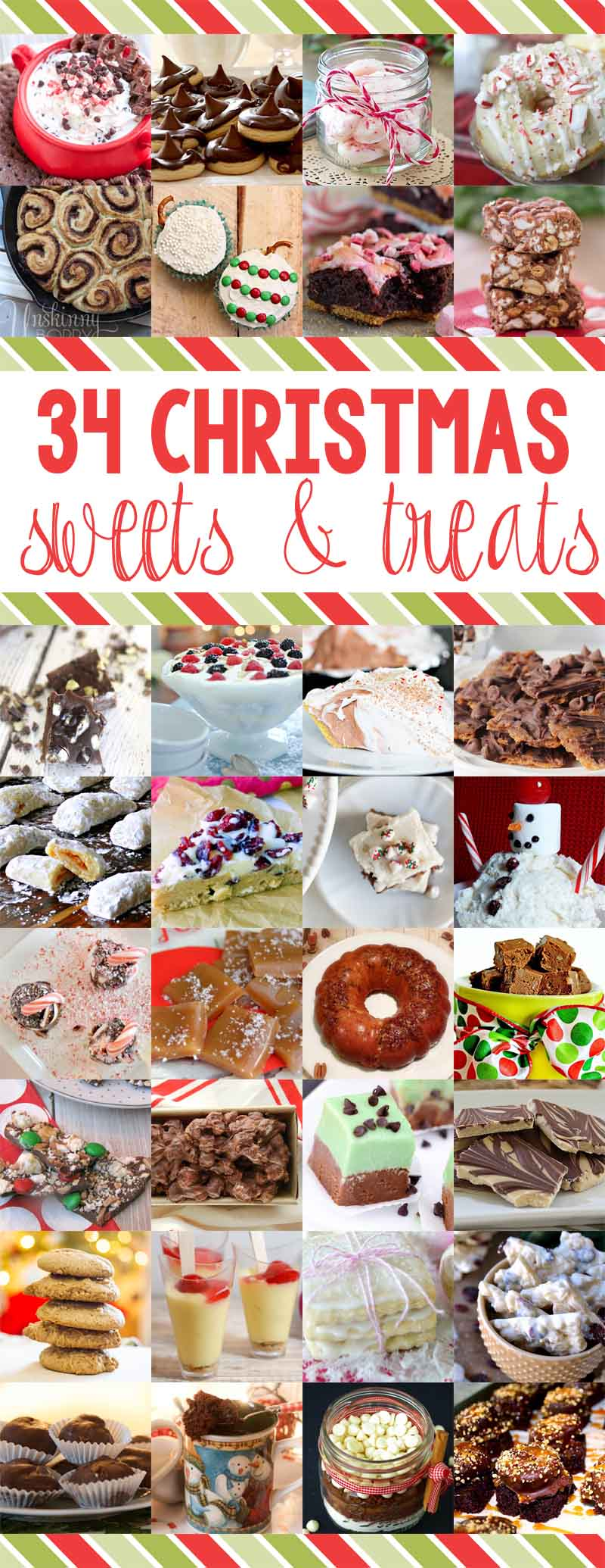 34 Christmas Treats & Sweets
