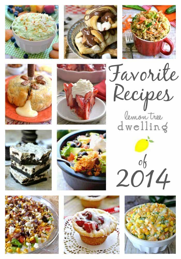 Favorite Recipes of 2014 - Lemon Tree Dwelling