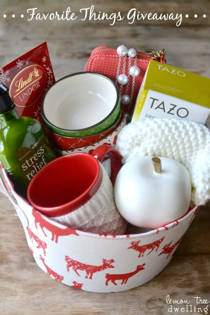 Favorite Things Giveaway Basket Final