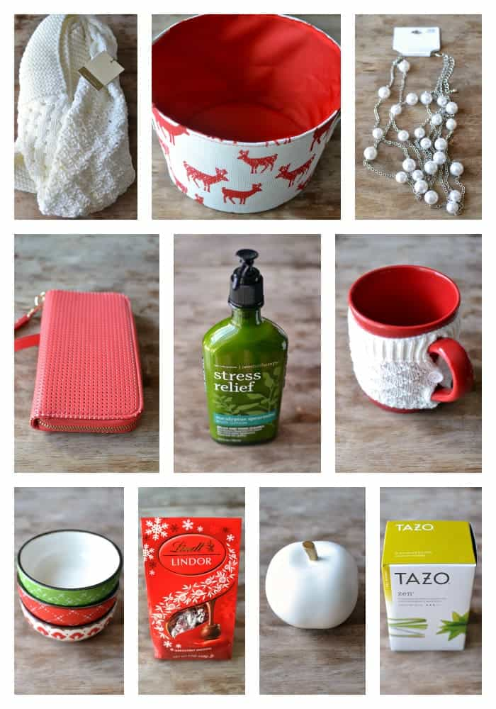 Favorite Things Giveaway Items Collage