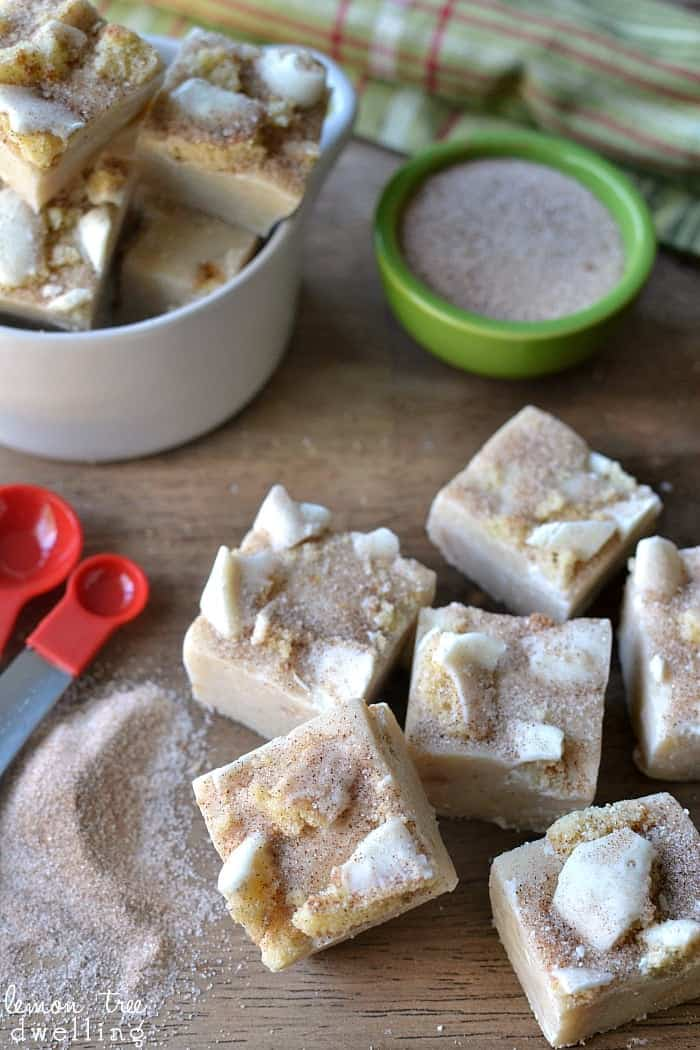 Snickerdoodle Fudge - sure to become a holiday favorite!