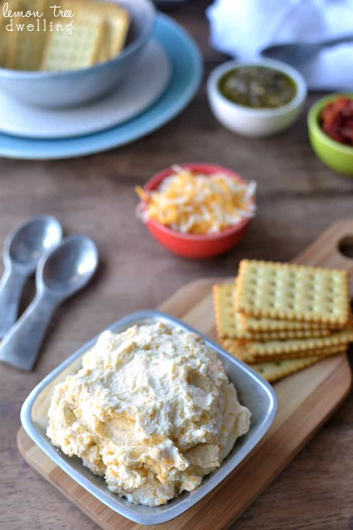 3-Ingredient  Cheese Spreads 3