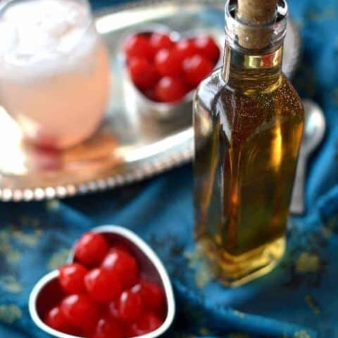 This Homemade Amaretto is a deliciously sweet and simple liquor perfect for the almond lovers. Made with just 4 simple ingredients, this liquor tastes so much better than store bought.