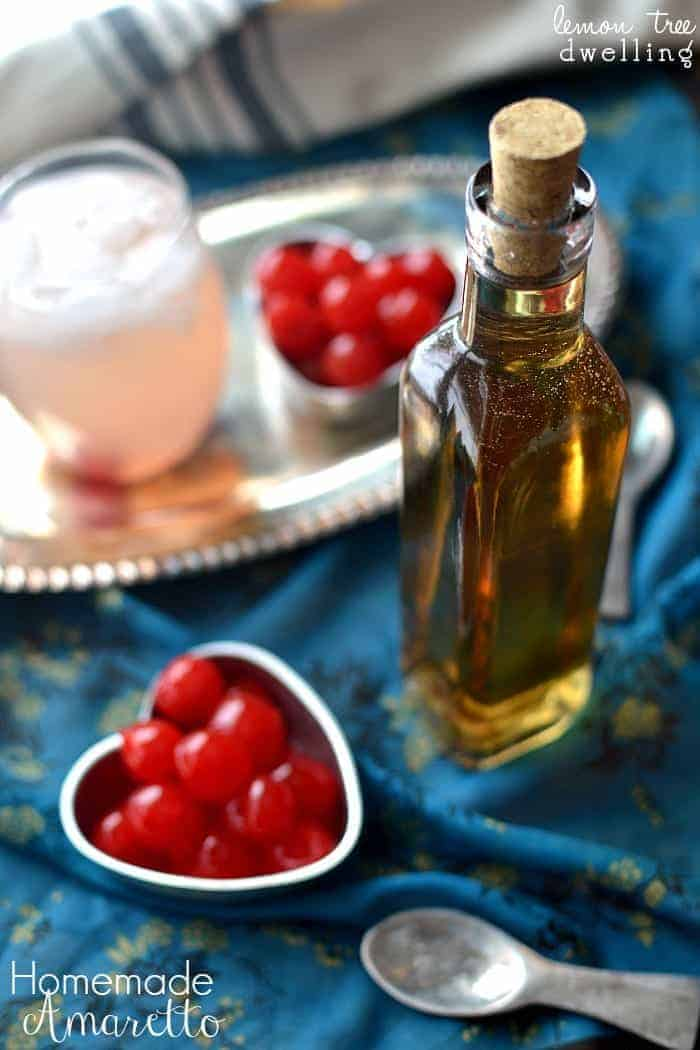 Homemade Amaretto - this would make such a great gift for Valentine's ...