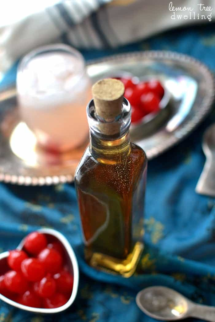 Homemade Amaretto - this would make such a great gift for Valentine's Day!