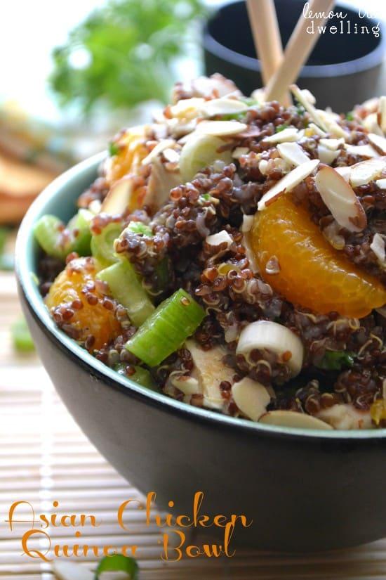 Asian Chicken Quinoa 1