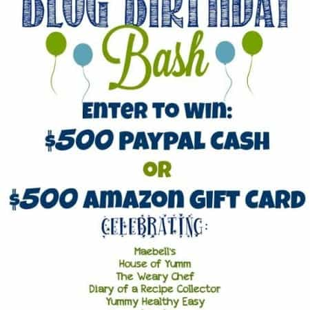 Blog Birthday Bash