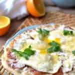 Breakfast Pizza Carbonara 1