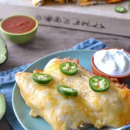 Creamy Chicken Enchiladas 1